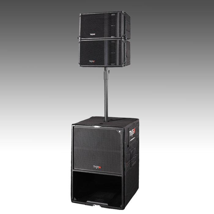 TASSO PA sound system for T2