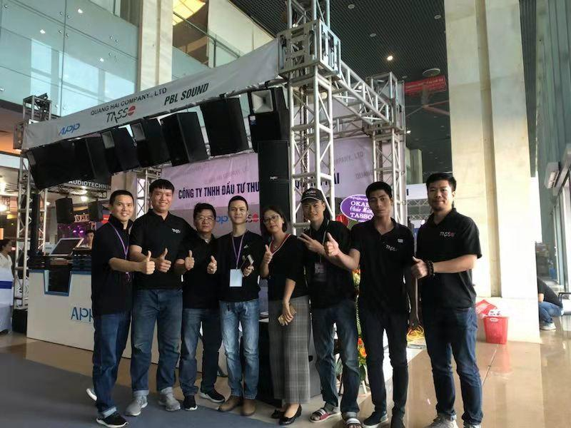 2018 Vietnam Prolight & Sound exhibition