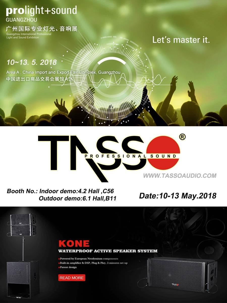 2018 Guangzhou Prolight +Sound Exhibition